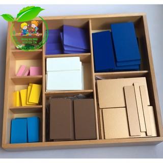 Giáo cụ Montessori – Thập thức Decanomial Square