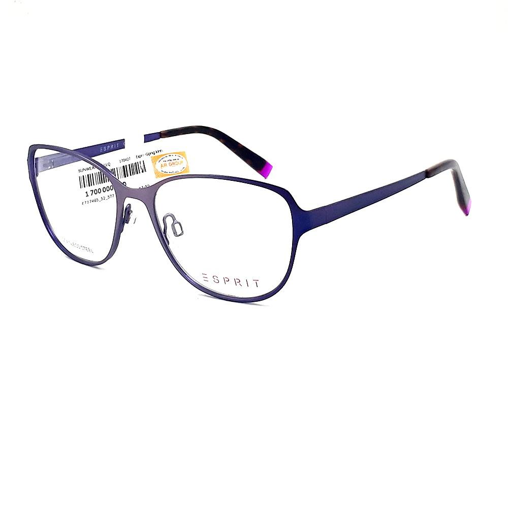 Gọng kính unisex Esprit ET17495 577 màu tím