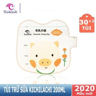 [Mã FMCG8 giảm 8% đơn 500K] Hộp 32 túi trữ sữa kichi 200ml cực dễ thương thumbnail