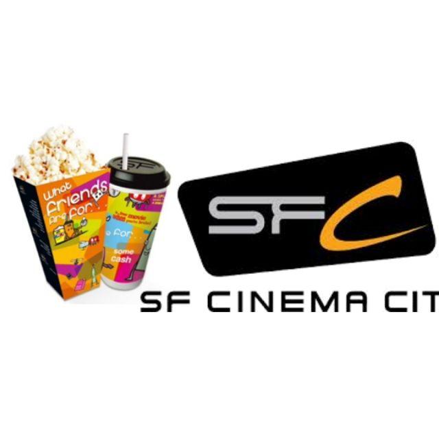 ตั๋วหนัง ป๊อบคอร์น sf cinema