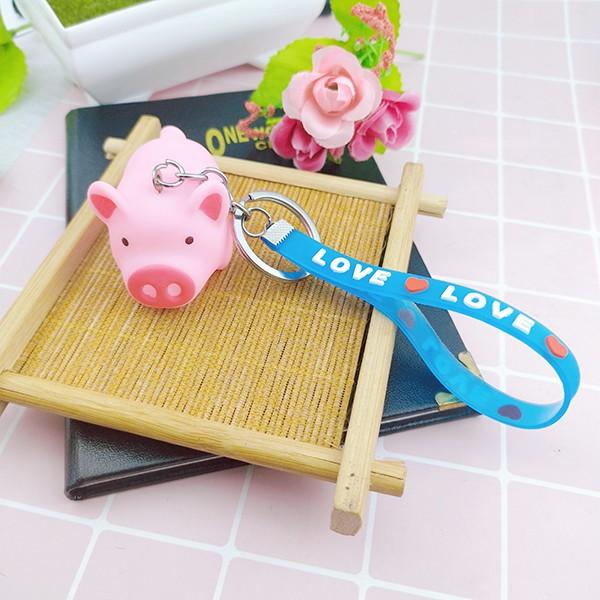 Móc khóa heo bóp kêuFREESHIPCó video thậtMóc khóa heo bóp kêu dễ thương ✓Móc khóa cute - Phát Huy Hoàng
