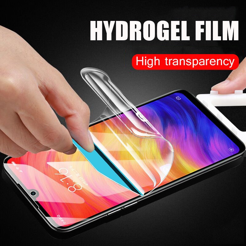 5D Curved Hydrogel Nano Soft Film For Xiaomi Redmi Note 4X 5 Mi 5X 5+