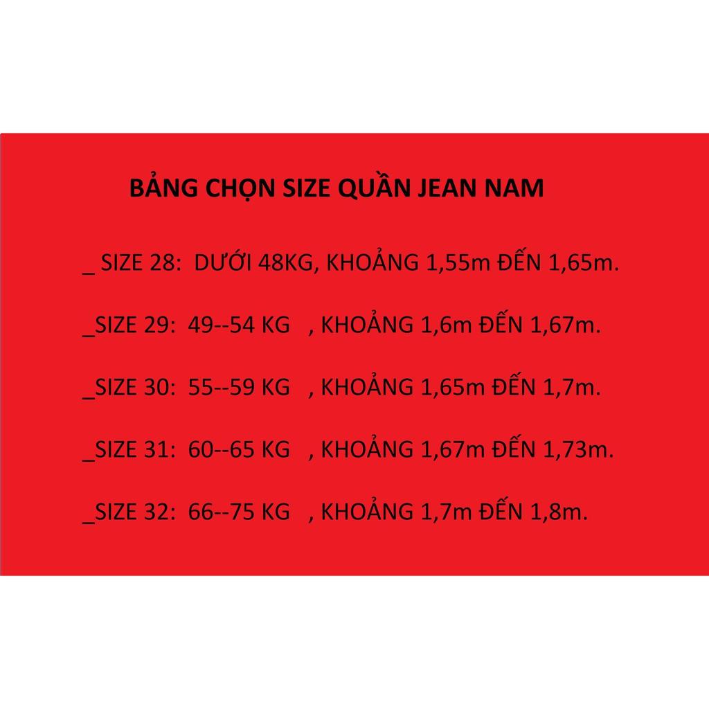 [TẶNG VÒNG TAY PHONG THỦY 99K] Quần Jean Nam Rách Nhẹ Xám Cao Cấp Thời Trang Nam