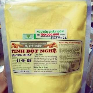 (Mã SPE51682 giảm 10k)Tinh bột nghệ Mẹ Ken nguyên chất