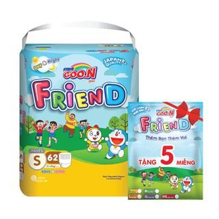 Bỉm Quần Goon Friend S62+5 nhập khẩu Thái Lan 4-8kg thumbnail