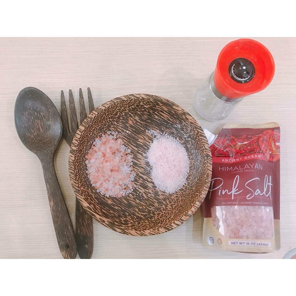 Muối hồng Hymalaya dạng thô 454g