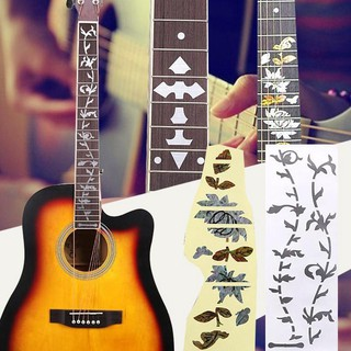 Guitar Fingerboard Keyboard Stickers Inlay Decals Decoration Accessories
