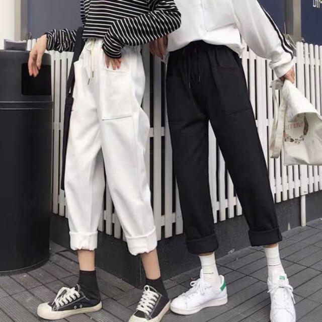 Quần kaki túi hông K&A