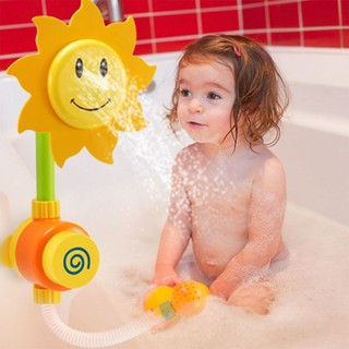 Vòi tắm hoa hướng dương cho bé