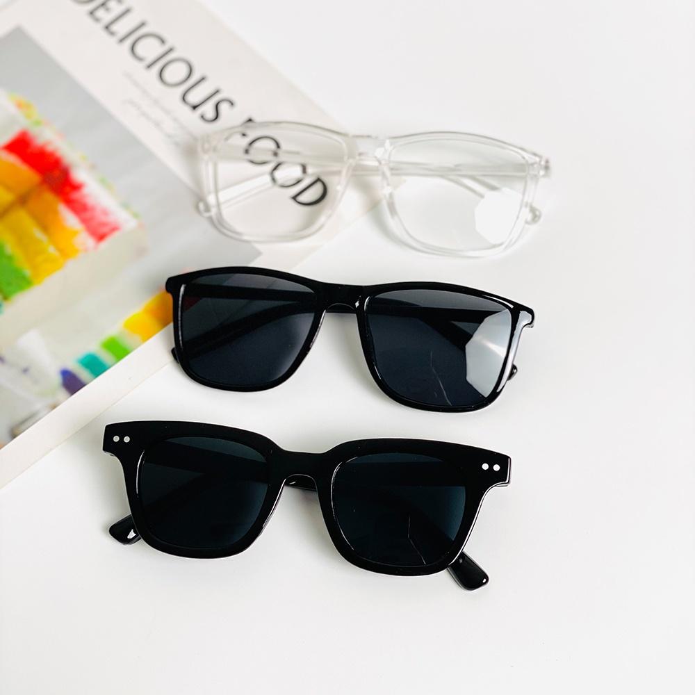 Mắt kính unisex hot trend thời trang 💖FREESHIP💖 gọng kính mát nam nữ nhiều màu phong cách