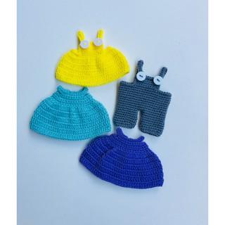 Áo cho búp bê handmade-Áo bé thỏ xinh-bellascrochet_corner