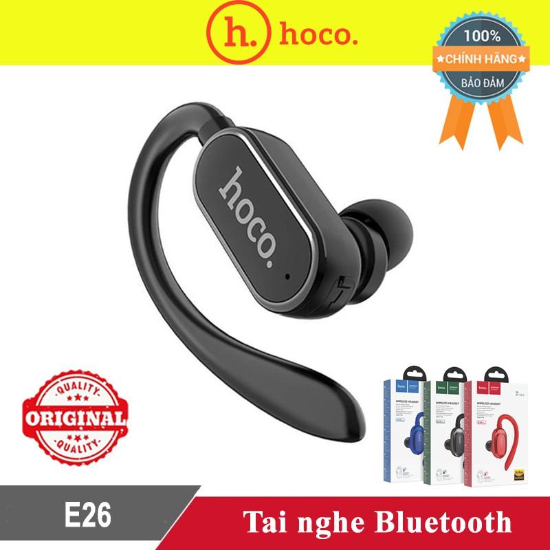 Tai Nghe Bluetooth 4.2 HOCO E26 - Sang Trọng, Lịch Lãm, Quý Phái - BH 3 tháng