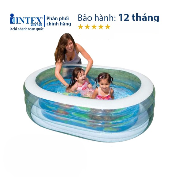 Bể bơi phao mini trẻ em trong nhà INTEX 57482 phù hợp cho bé từ 1 đến 5 tuổi