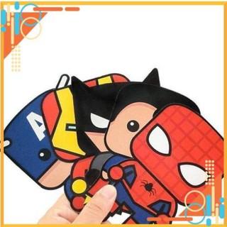 Bao lì xì hình siêu nhân siêu anh hùng vạn bé mê combo 5 bao
