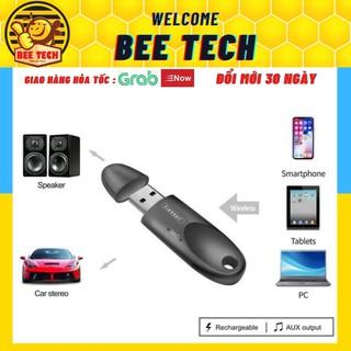 USB Bluetooth Earldom M40, Thu tín hiệu bluetooth có hỗ trợ mic cho Loa, ô tô ... - Beetech