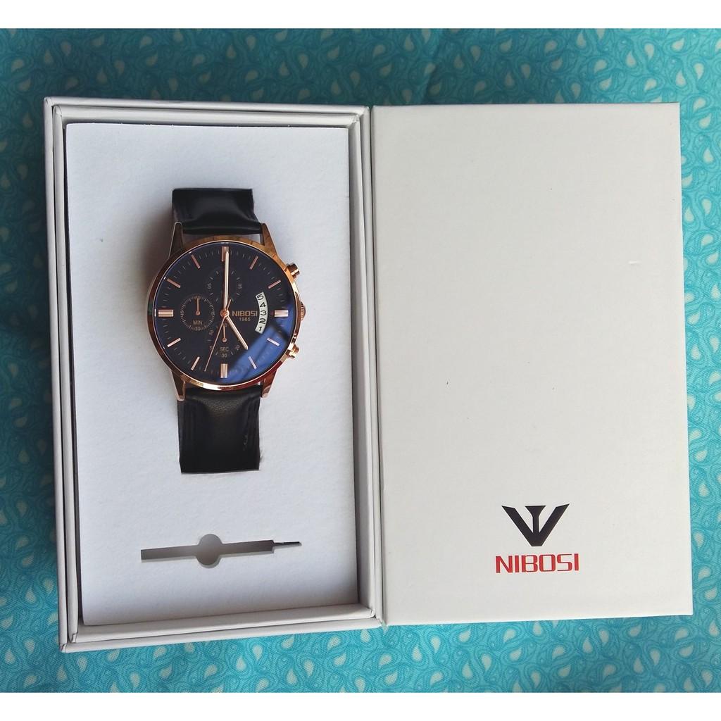 Đồng hồ nam NIBOSI 1985 Full Box dây da cao cấp, tặng kèm pin - 3272809 , 732284459 , 322_732284459 , 1260000 , Dong-ho-nam-NIBOSI-1985-Full-Box-day-da-cao-cap-tang-kem-pin-322_732284459 , shopee.vn , Đồng hồ nam NIBOSI 1985 Full Box dây da cao cấp, tặng kèm pin