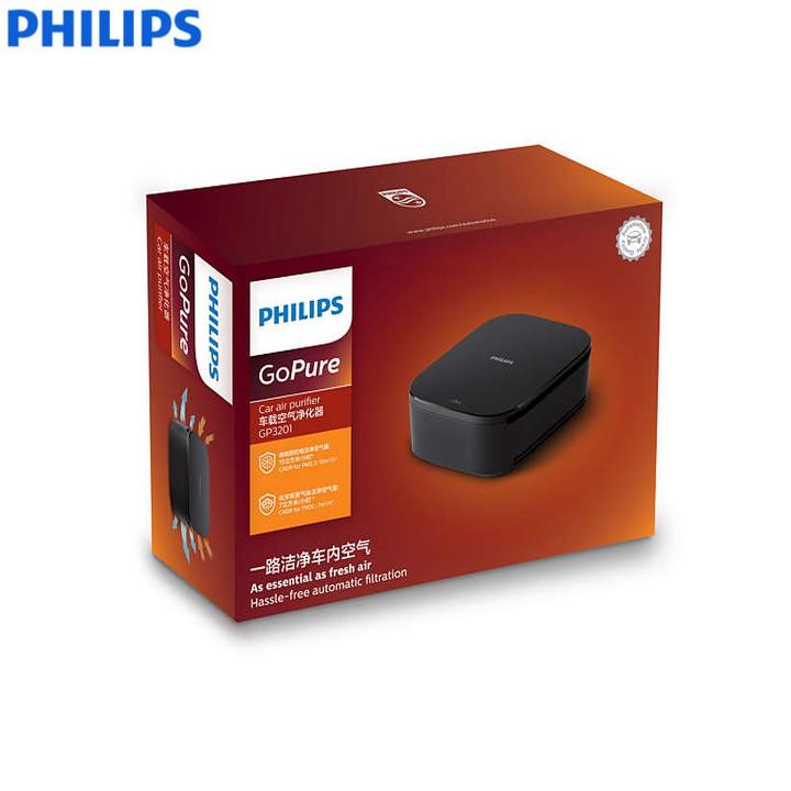 Máy khử mùi, lọc không khí trên xe ô tô Philips GP3201 Công suất: 2W - HÀNG CHÍNH HÃNG