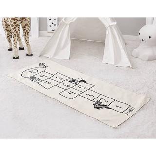 Thảm bò in họa tiết trò chơi vui nhộn cho bé