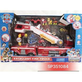 PN351084 – Hộp xe cứu hỏa chó cứu hộ , 21251