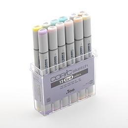 Bộ 12 màu bút marker Copic Sketch Set Ex-4 - 9996989 , 968762541 , 322_968762541 , 1150000 , Bo-12-mau-but-marker-Copic-Sketch-Set-Ex-4-322_968762541 , shopee.vn , Bộ 12 màu bút marker Copic Sketch Set Ex-4