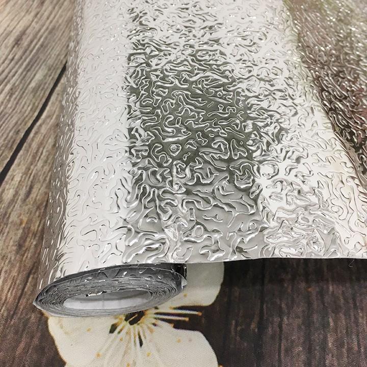 2 Mét giấy dán bếp tráng nhôm chống thấm khổ 40cm