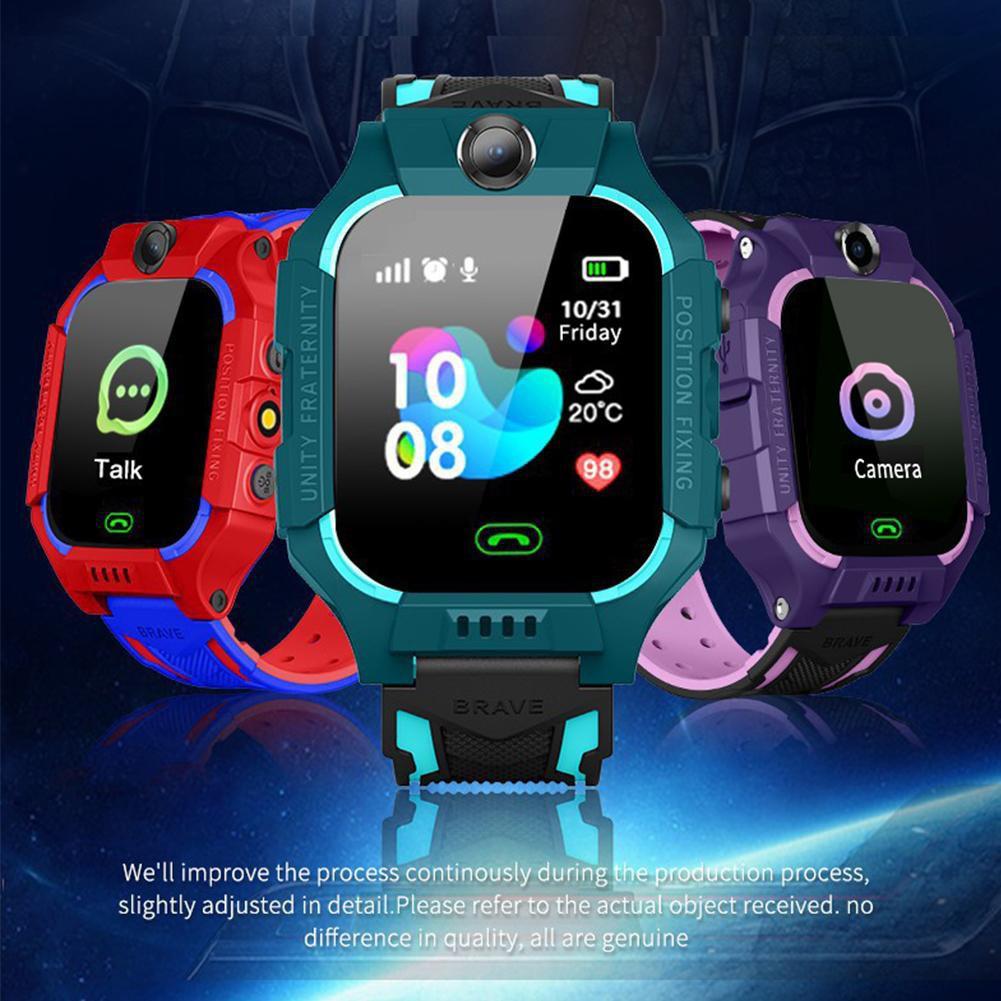 Đồng hồ thông minh định vị trẻ em Z66 Siêu chống nước định vị trẻ em lắp  sim nghe gọi bảo hành 24 tháng đổi mới 15 ngày - Đồng hồ thông