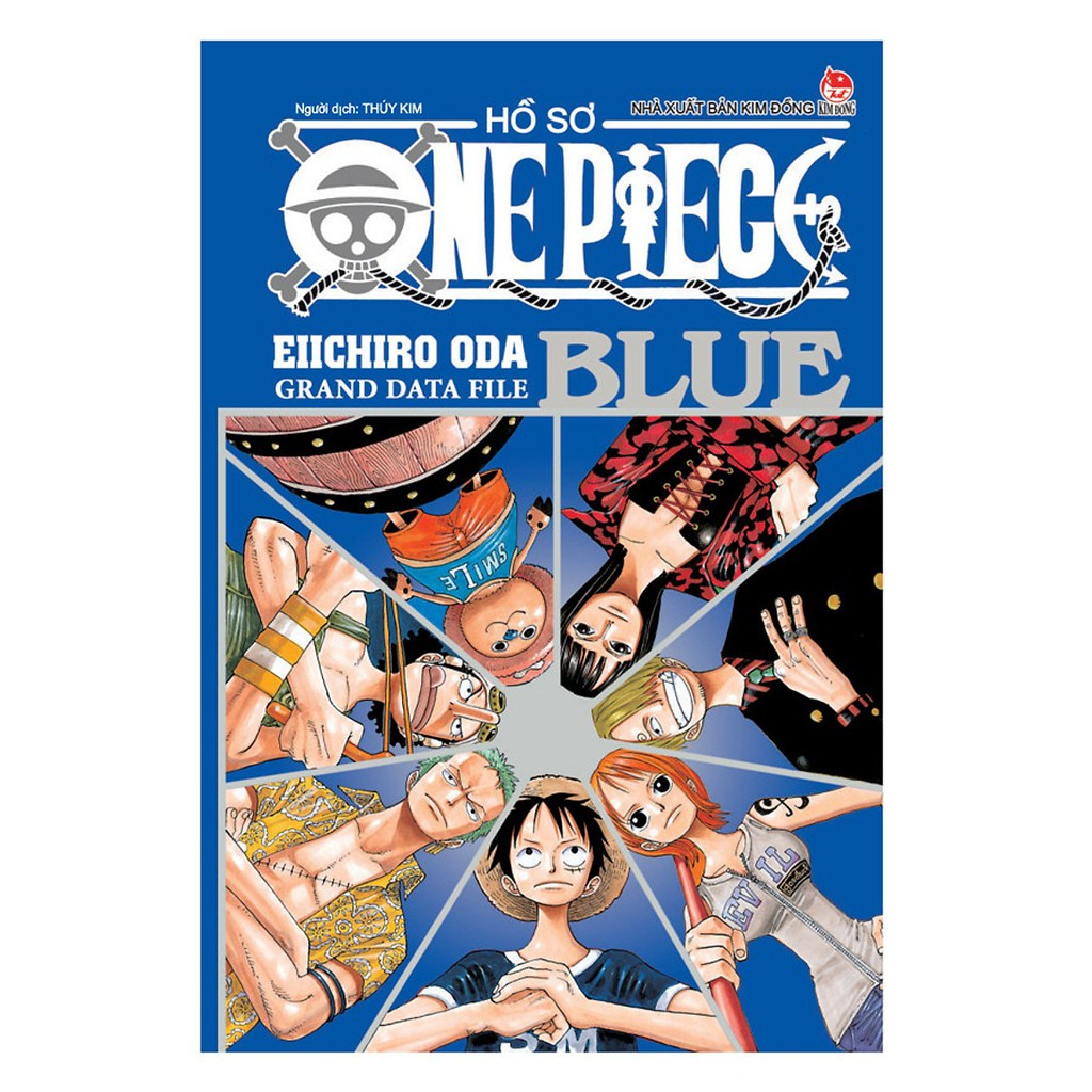 Sách - Hồ Sơ One Piece Blue - Grand Data File