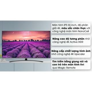 Smart tivi LG 4K 55 inch 558600PTA