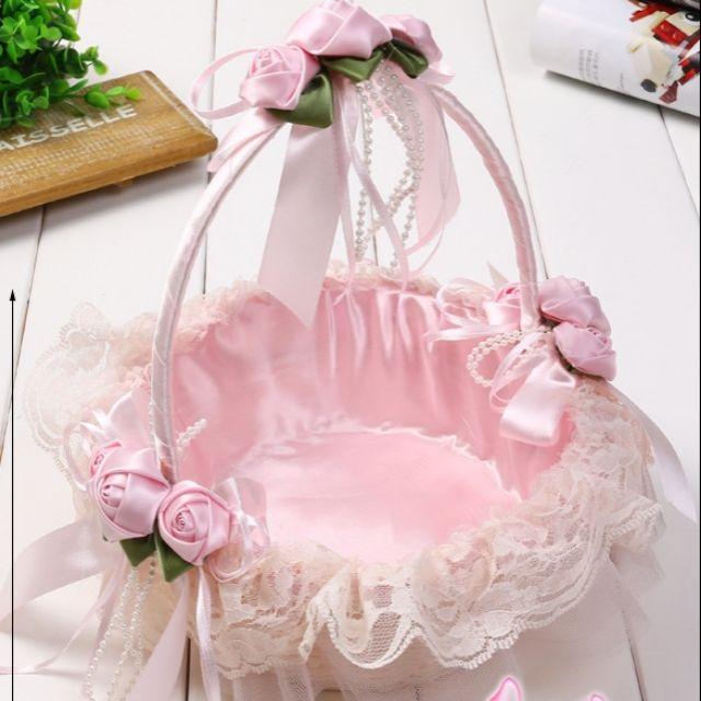 Giỏ mây trang trí đính hoa đường kính 22cm - 10023947 , 1111860929 , 322_1111860929 , 165000 , Gio-may-trang-tri-dinh-hoa-duong-kinh-22cm-322_1111860929 , shopee.vn , Giỏ mây trang trí đính hoa đường kính 22cm