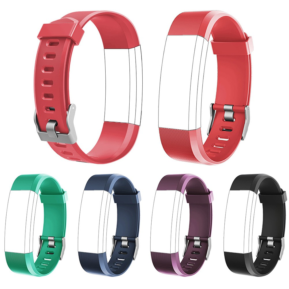 Replacement Silicone Adjustable Wrist Strap Band for ID115Plus Smart Bracelet V19