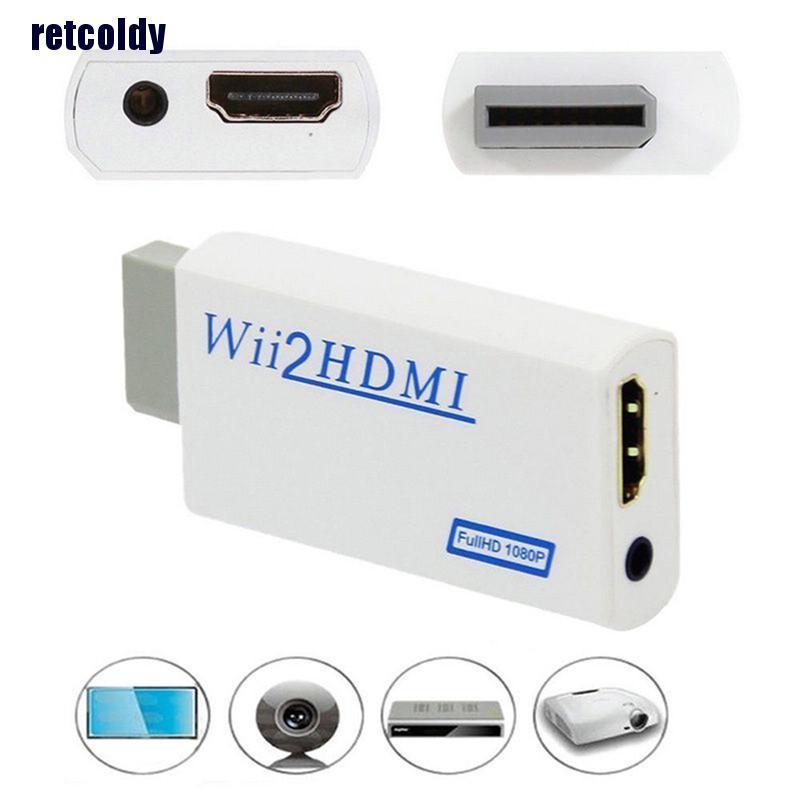 Đầu Chuyển Đổi Hd Wii Sang Hdmi 1080p / 720p Với Cổng 3.5mm Vrp