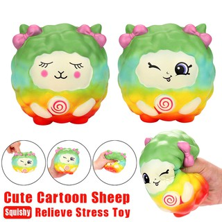 Cartoon Kawaii Sheep Squishy Slow Rising Scented Squeeze Toy Collection Cure Gift