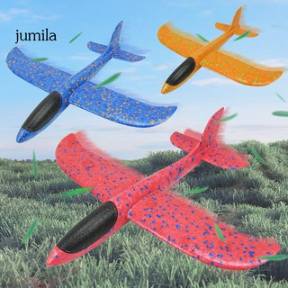 JUL 3Pcs Kids Outdoor Throwing Plane Flying Aircraft Gilders Model Airplane Toy Gift