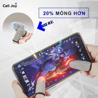 Bộ 2 bao ngón tay chơi game điện thoại phiên bản mỏng chống mồ hôi, chống trượt. thumbnail