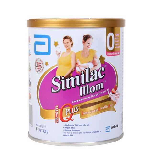 COMBO 2 LON SIMILAC MOM TẶNG 1 BALO