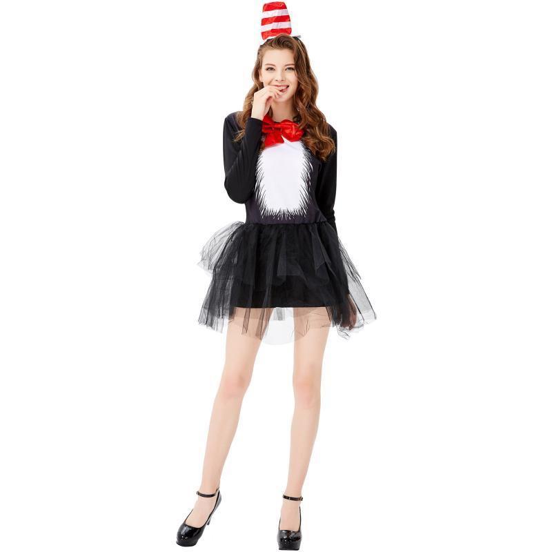 Đầm Hóa Trang Halloween Nhân Vật Nữ Hoàng Dễ Thương Xinh Xắn