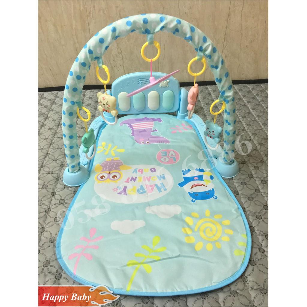 Thảm nhạc Happy Baby tập Gym cho bé + Quà tặng trị giá 30k