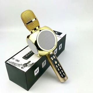 Míc Karaoke Bluetooth/Mic hát MMD YS90  míc không dây, Siêu bass