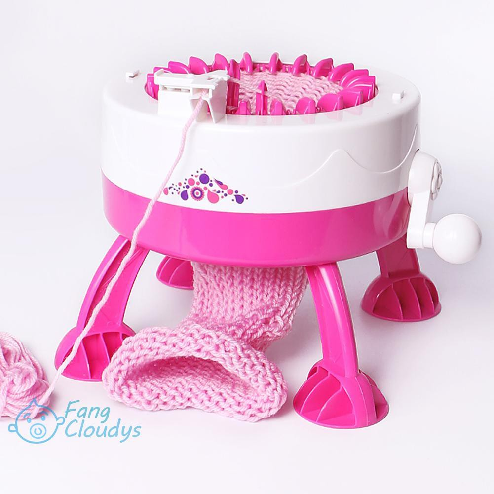 ♦[IN STOCK/COD]♦DIY Hand Knitting Machine Weaving Loom for Scarf Hat