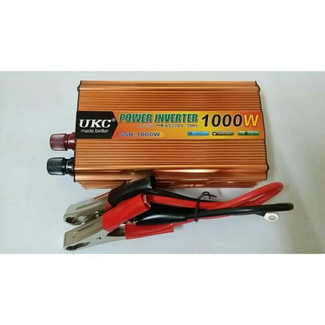 Bộ kích điện 12V DC lên 220V AC