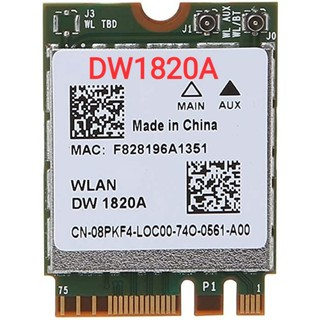 Card wifi Hackintosh DW1820A BCM94350Z NGFF AC bluetooth