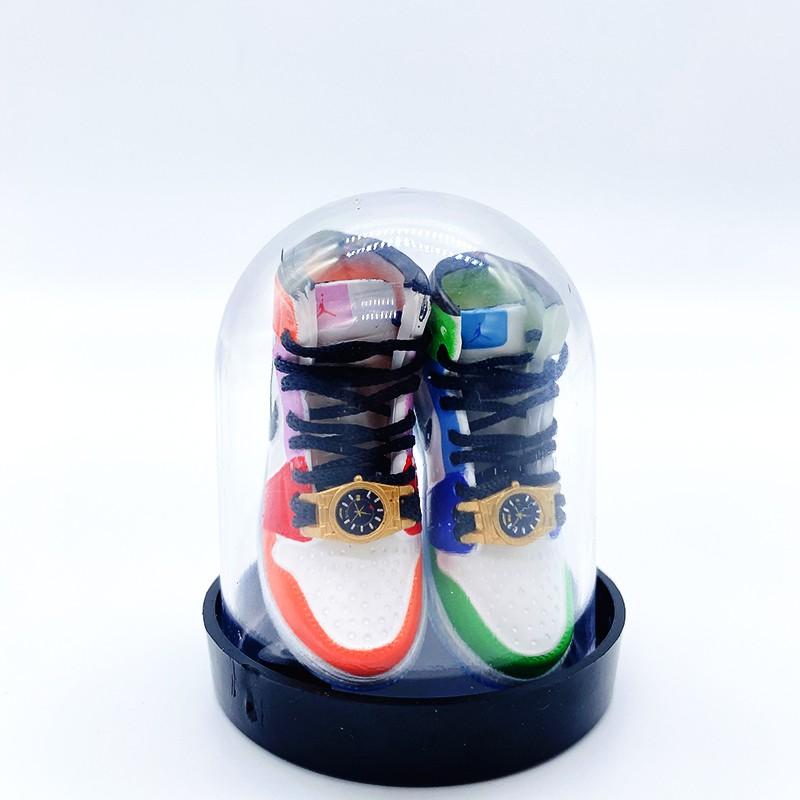 """Móc Khóa Giày Sneaker Mini Melody Ehsani x Air Jordan 1 Mid """"Fearless"""" (Tặng Box)"""