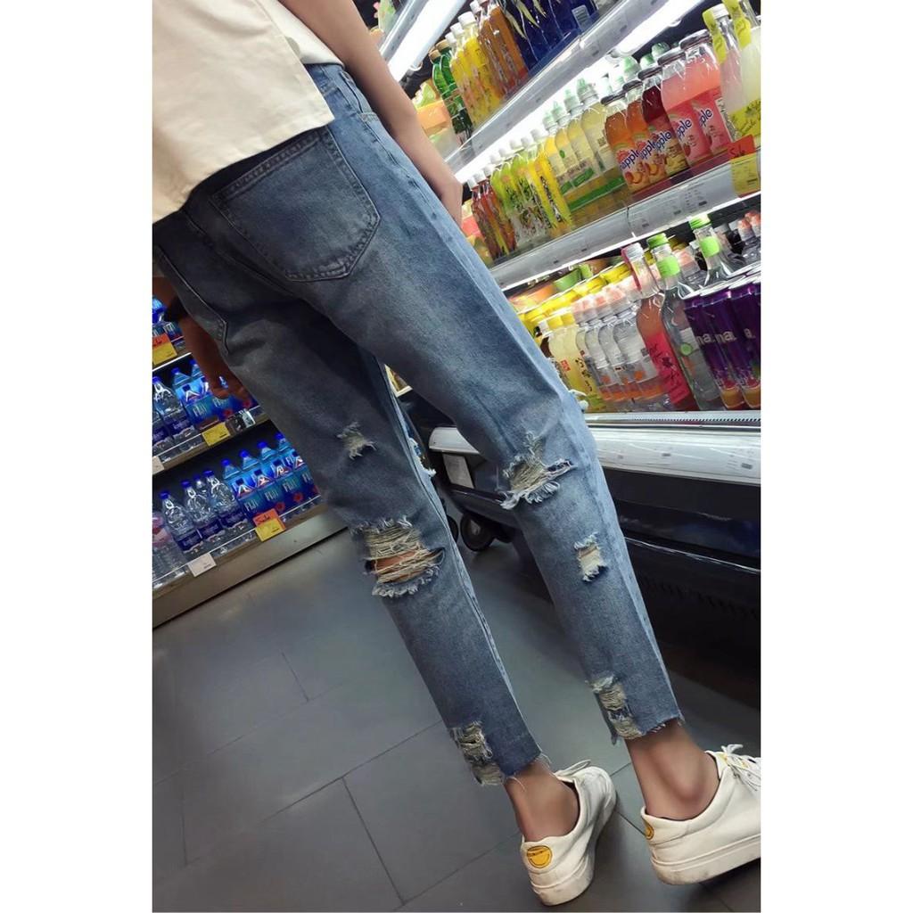 mùa hè phần mỏng Hàn Quốc phiên bản của triều Slim chân chín quần quần quần nam