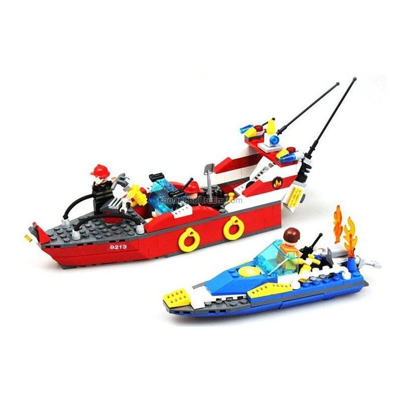 Lego City 60005 Xếp hình xuồng cứu hỏa chữa cháy cano 315 Chi tiết. Đồ chơi Xếp Hình cho bé - 3153149 , 1343278896 , 322_1343278896 , 165000 , Lego-City-60005-Xep-hinh-xuong-cuu-hoa-chua-chay-cano-315-Chi-tiet.-Do-choi-Xep-Hinh-cho-be-322_1343278896 , shopee.vn , Lego City 60005 Xếp hình xuồng cứu hỏa chữa cháy cano 315 Chi tiết. Đồ chơi Xếp