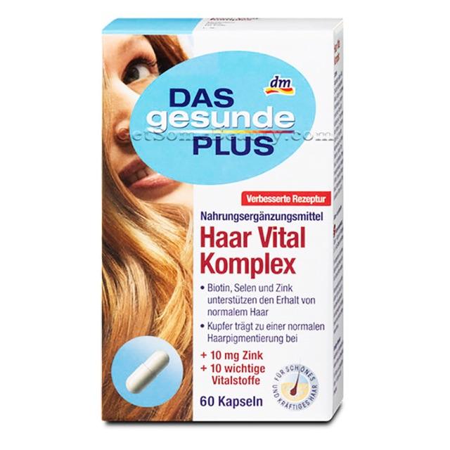 Viên uống bổ sung dưỡng chất cho tóc Haar Vital Komplex Das gesunde Plus - 2828255 , 568218788 , 322_568218788 , 160000 , Vien-uong-bo-sung-duong-chat-cho-toc-Haar-Vital-Komplex-Das-gesunde-Plus-322_568218788 , shopee.vn , Viên uống bổ sung dưỡng chất cho tóc Haar Vital Komplex Das gesunde Plus