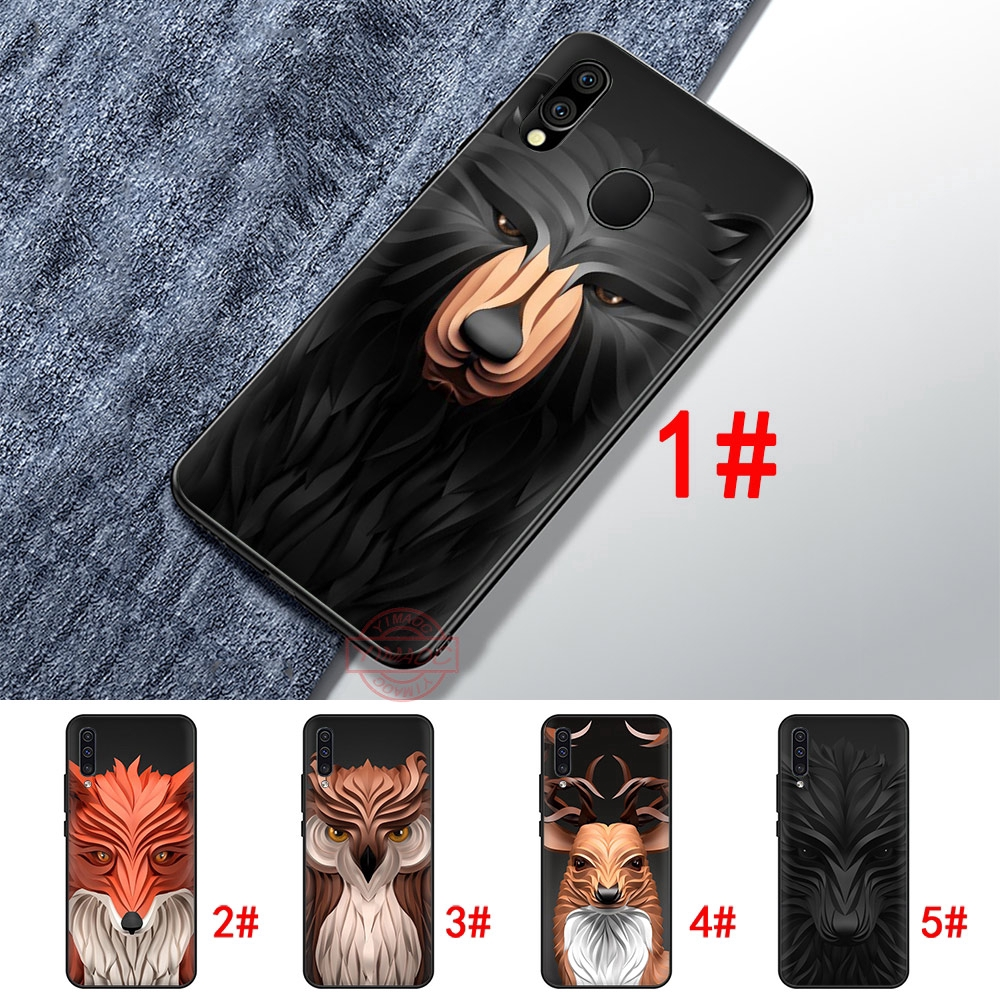 Ốp điện thoại in hình động vật hoang dã cho Samsung Galaxy A10 A20 A30 A40 A50 A60 A70 M10 M20 M30 M40