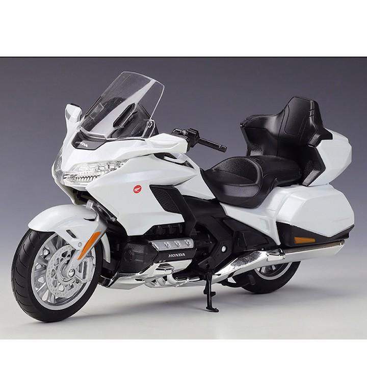 Mô hình moto Honda Goldwing 2020 tỉ lệ 1:12 WELLY