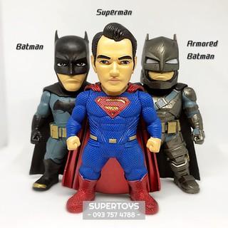 (Nguyên bộ) SET 3 Mô hình BATMAN SUPERMAN 9cm Khồng Có Đèn