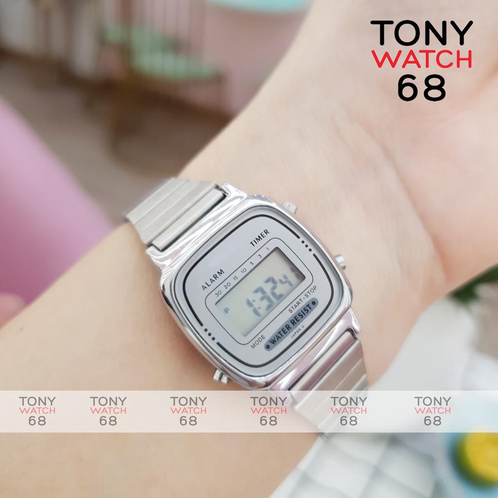 Đồng hồ điện tử nữ SL phiên bản mini huyền thoại chống nước tuyệt đối chính hãng Tony Watch 68
