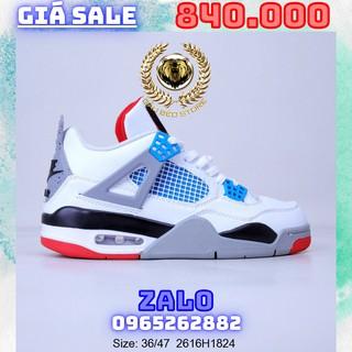 Giày Outlet Sneaker _Nike Air Jordan 4 Black Lase AJ4 MSP PHONG CÁCH ORDER + FREESHIP gaubeostore.shop thumbnail